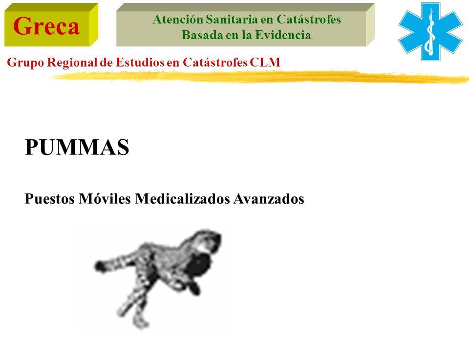 PUMMAS Puestos Móviles Medicalizados Avanzados