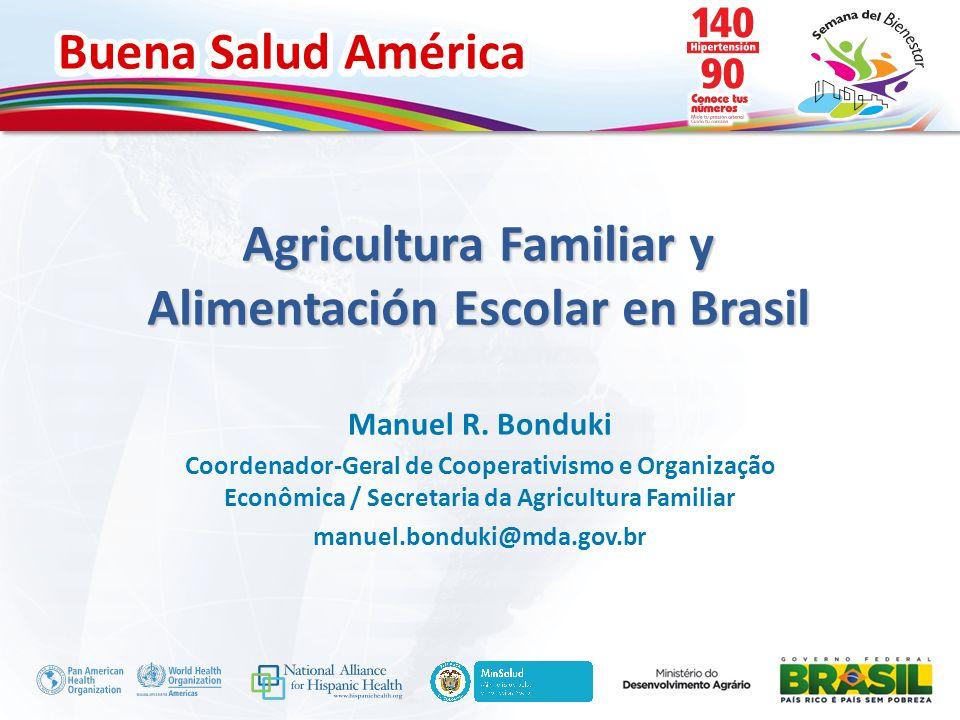 Agricultura Familiar y Alimentación Escolar en Brasil