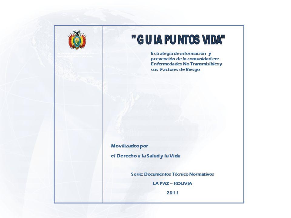 Serie: Documentos Técnico Normativos