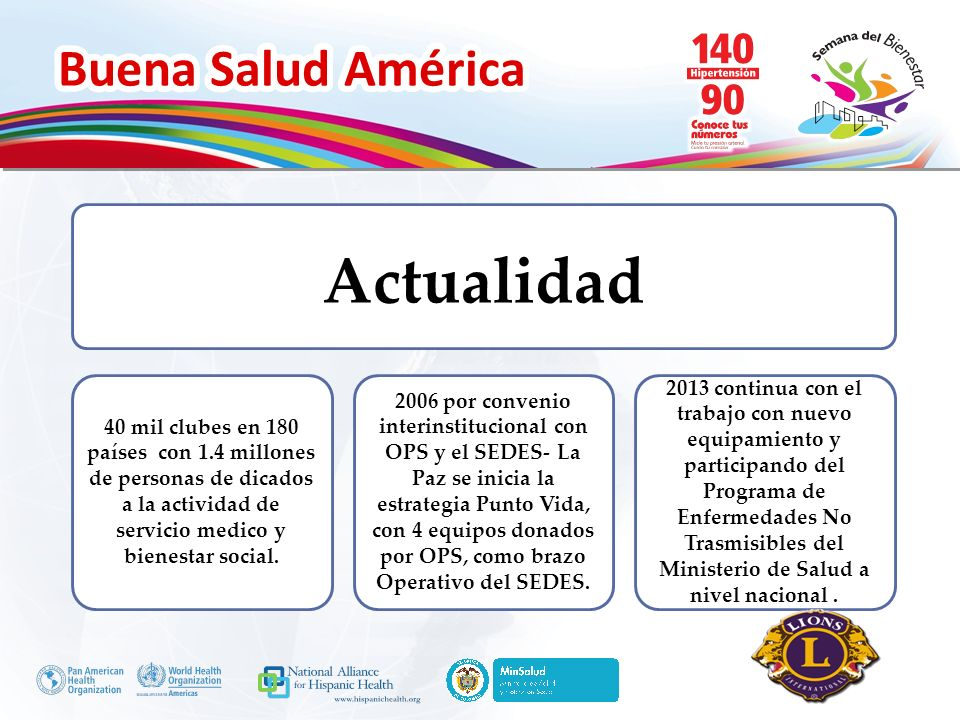 Actualidad40 mil clubes en 180 países con 1.4 millones de personas de dicados a la actividad de servicio medico y bienestar social.