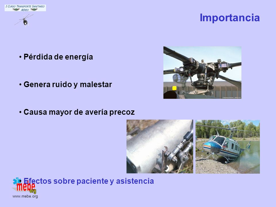Importancia Pérdida de energía Genera ruido y malestar
