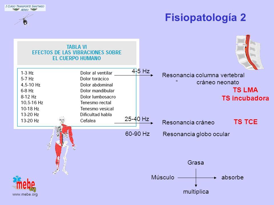 Fisiopatología 2 TS LMA TS incubadora TS TCE 4-5 Hz