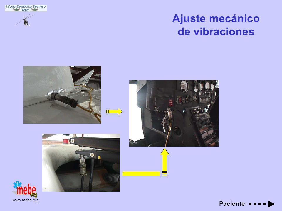 Ajuste mecánico de vibraciones