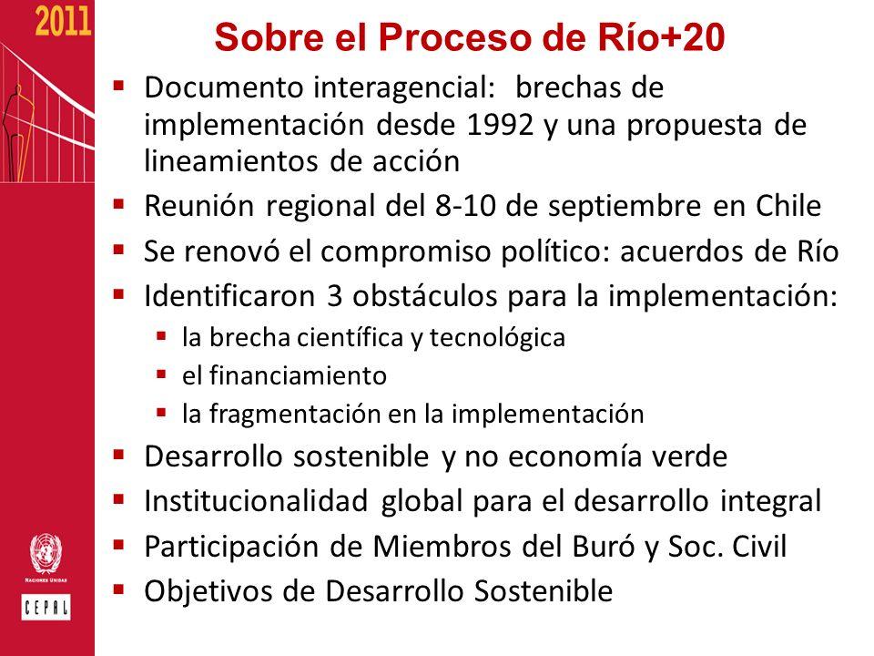 Sobre el Proceso de Río+20