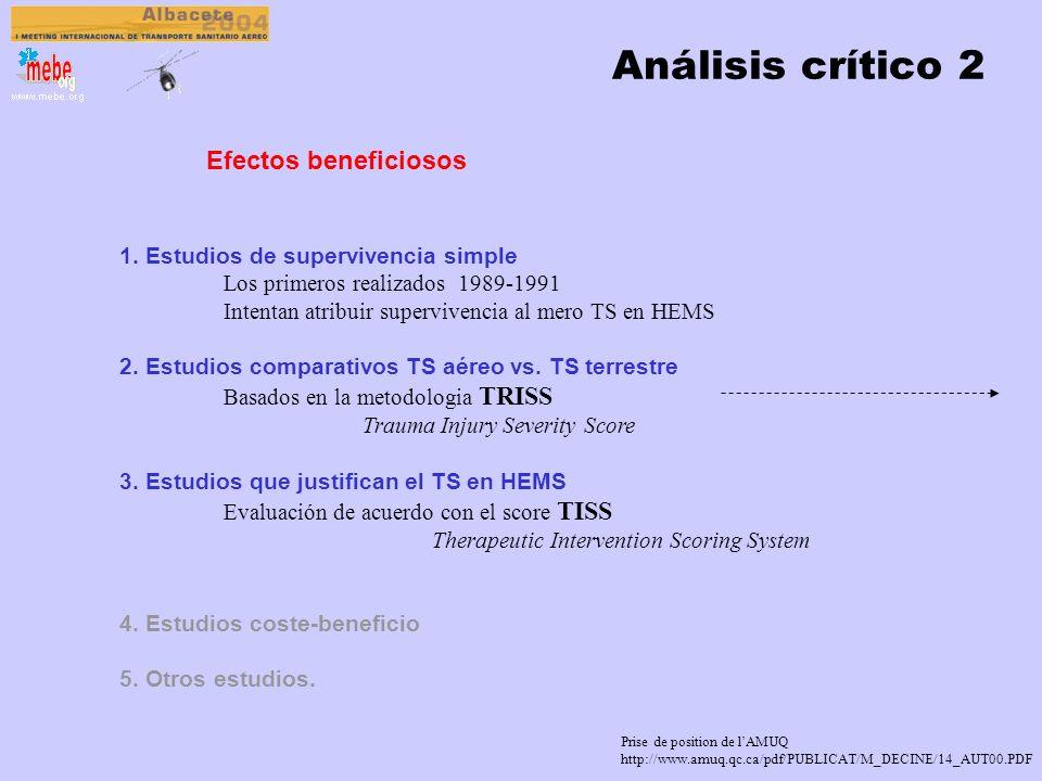 Análisis crítico 2 Efectos beneficiosos