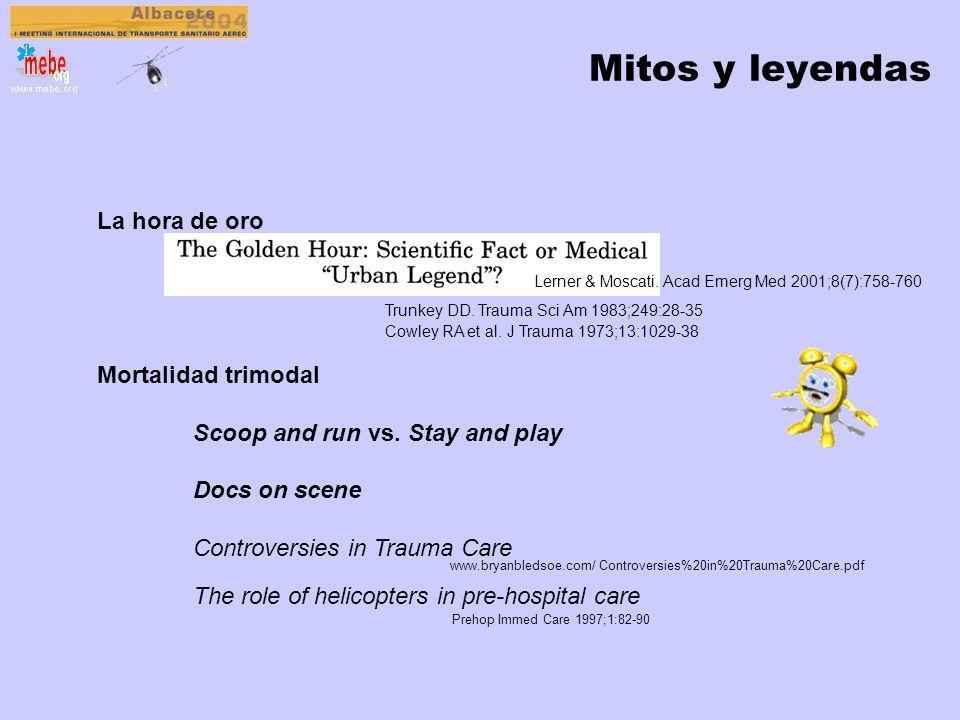 Mitos y leyendas La hora de oro