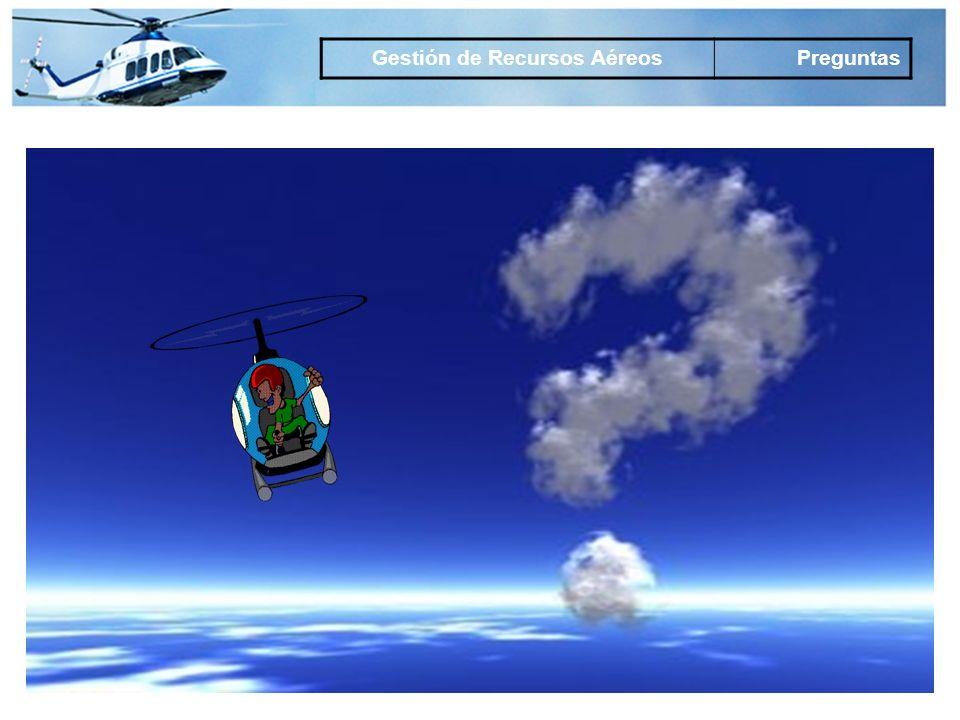 Gestión de Recursos Aéreos