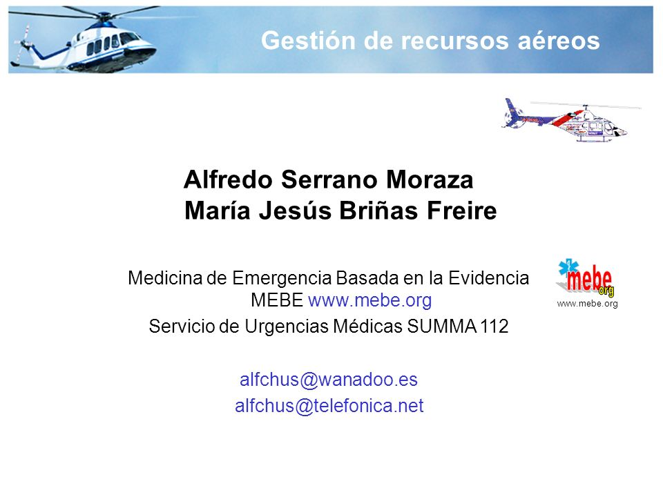 mebe org Gestión de recursos aéreos