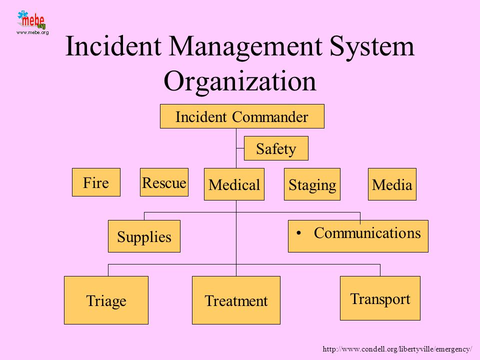 Incident Management System Organization