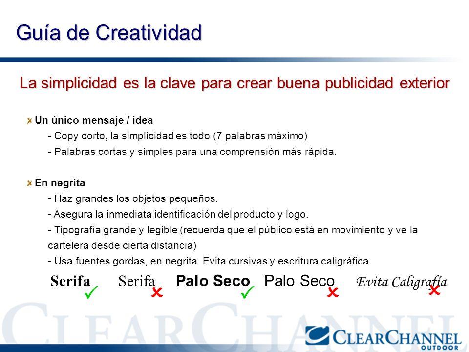    Guía de Creatividad  