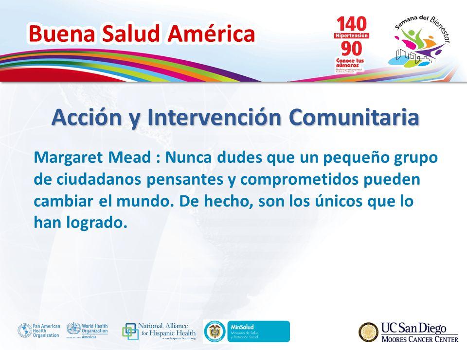 Acción y Intervención Comunitaria