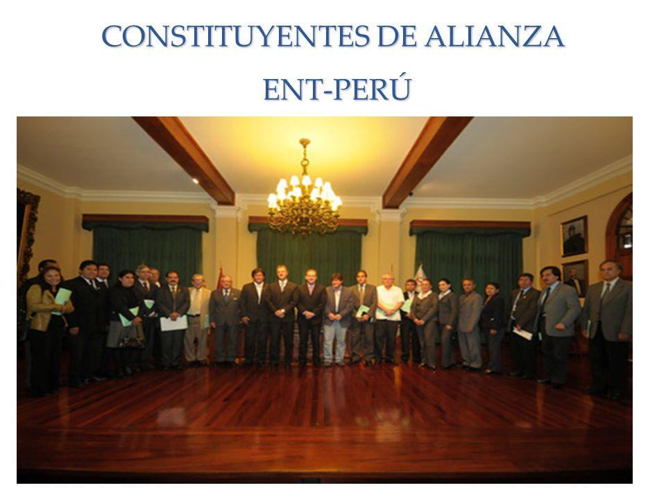 CONSTITUYENTES DE ALIANZA ENT-PERÚ