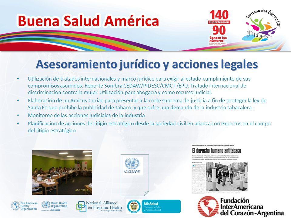 Asesoramiento jurídico y acciones legales