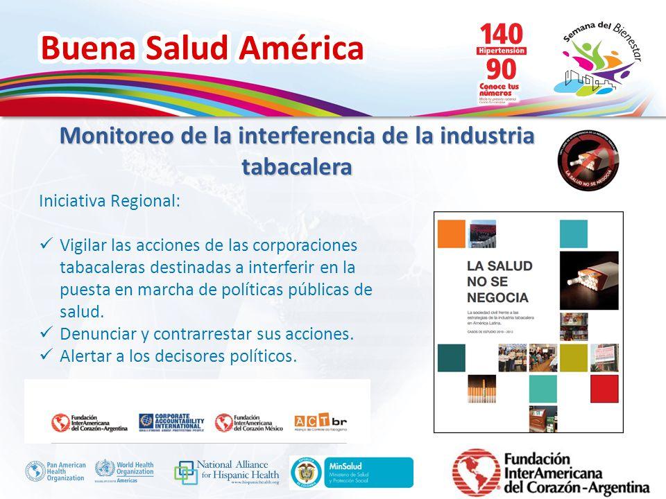 Monitoreo de la interferencia de la industria tabacalera