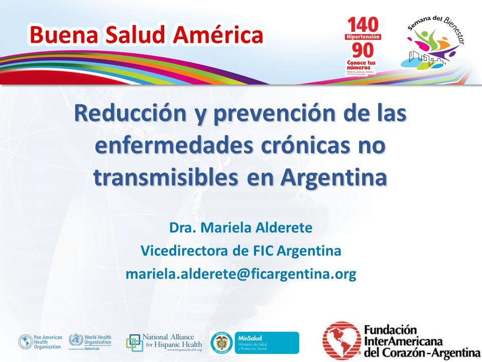 Vicedirectora de FIC Argentina