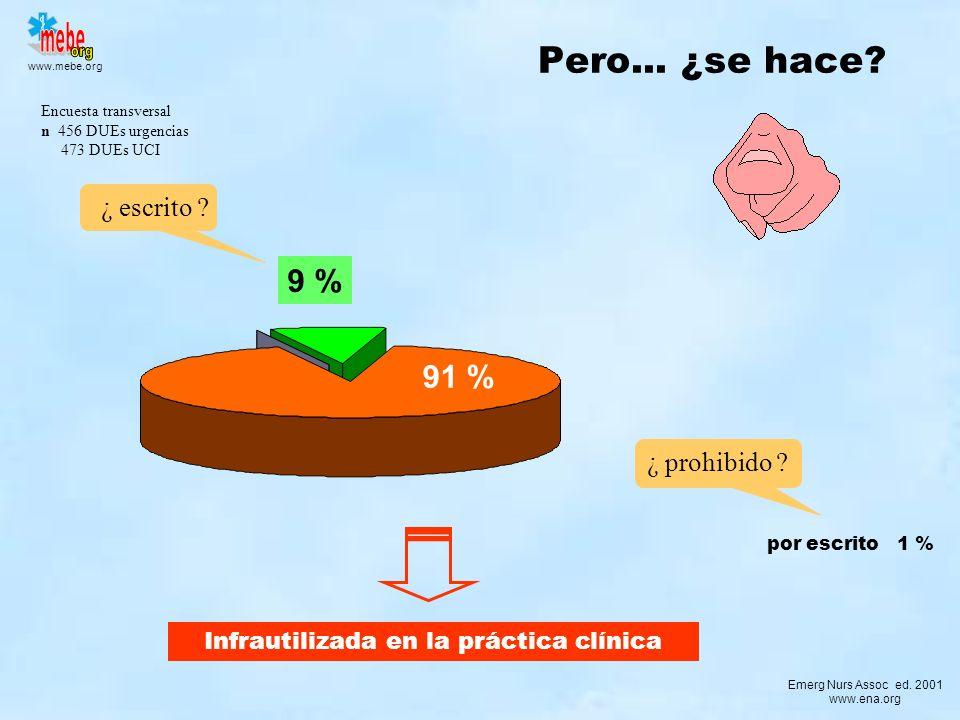 Infrautilizada en la práctica clínica