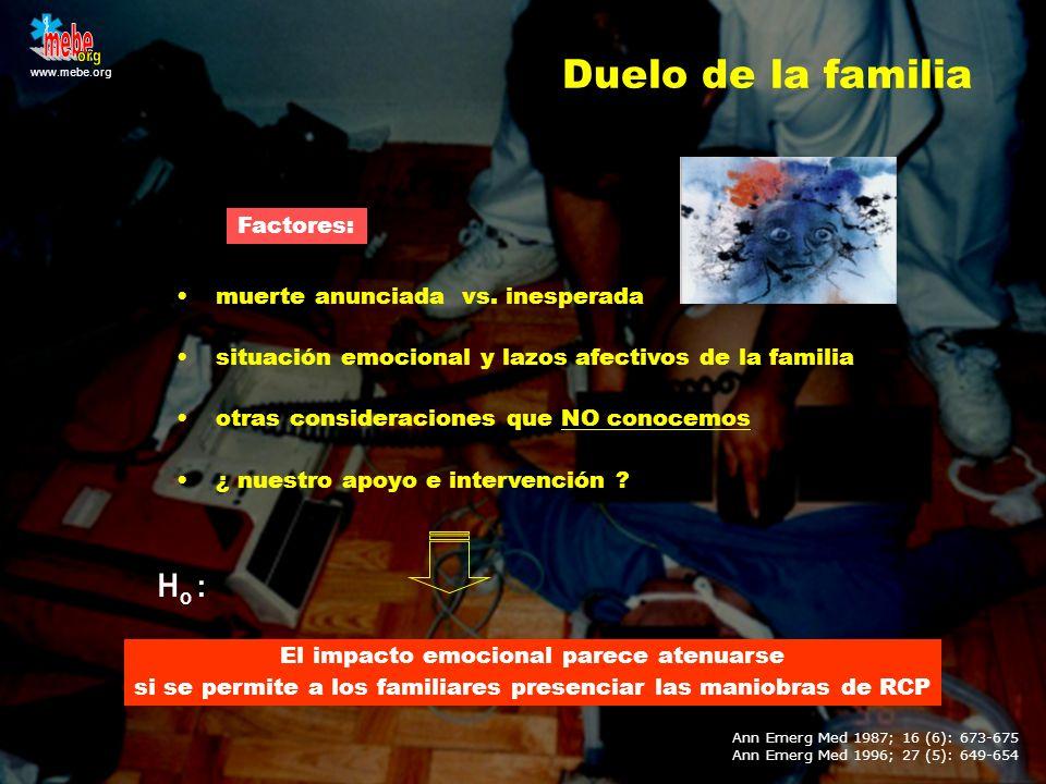 mebe org Duelo de la familia Ho : Factores: