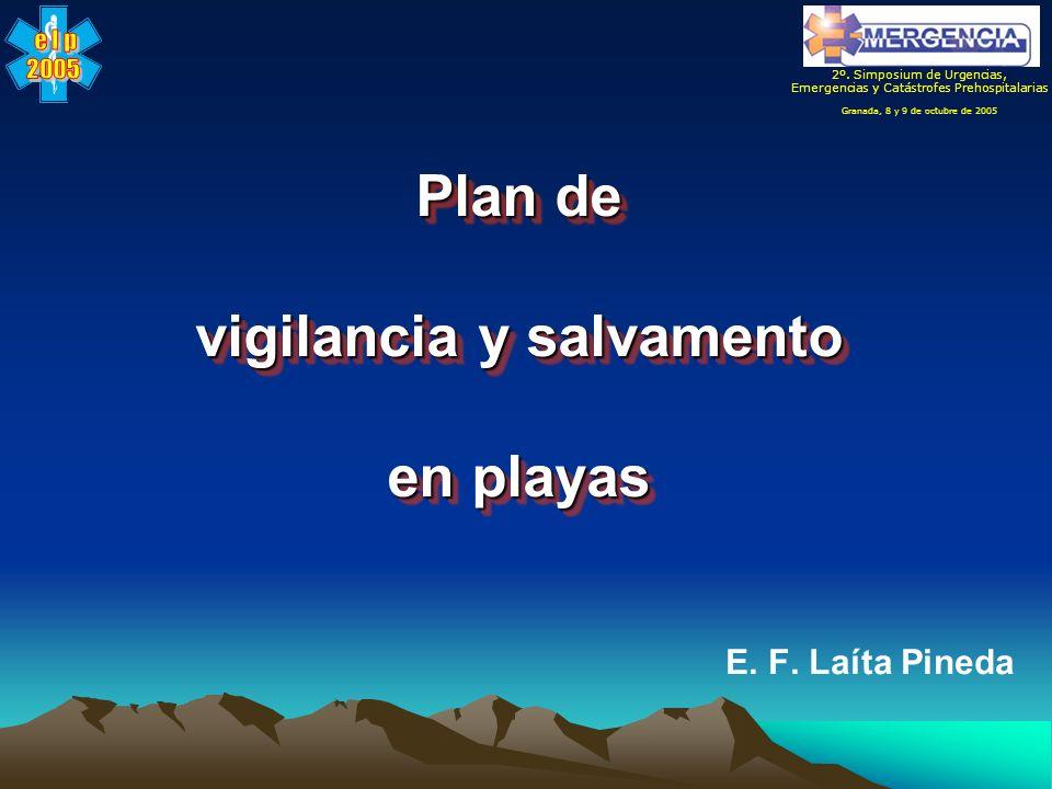 Plan de vigilancia y salvamento en playas