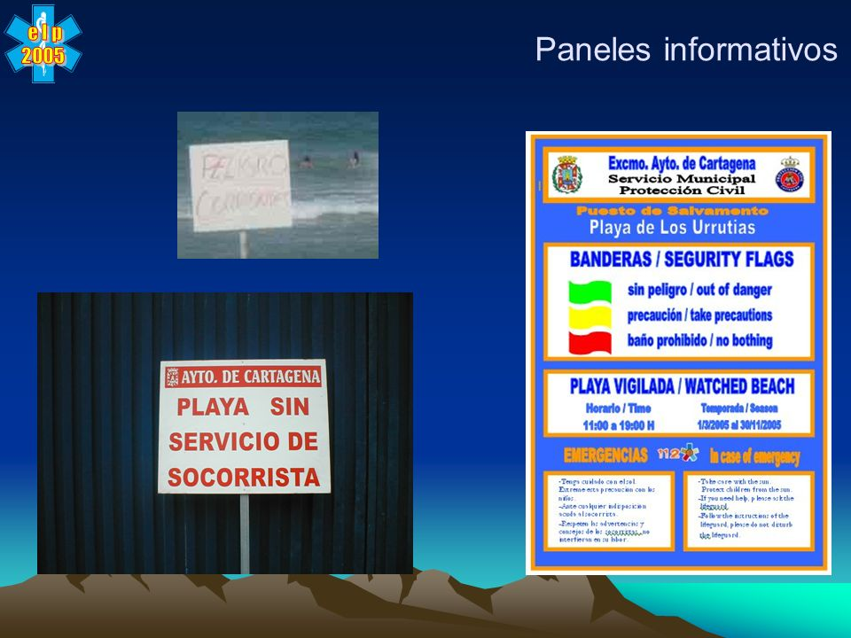 Paneles informativos