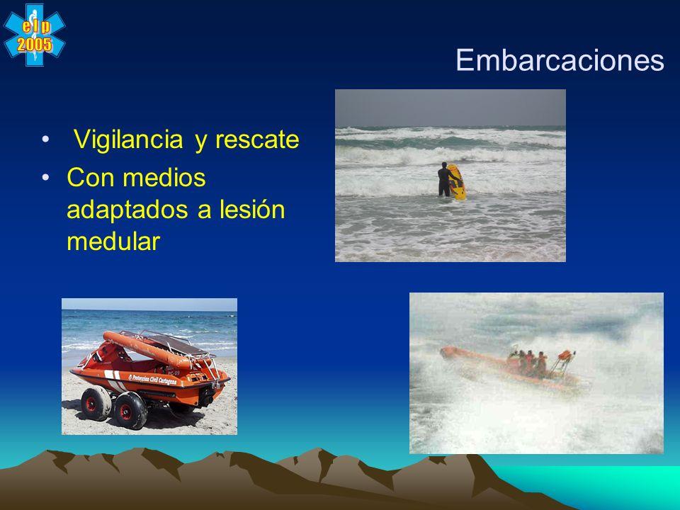 Embarcaciones Vigilancia y rescate
