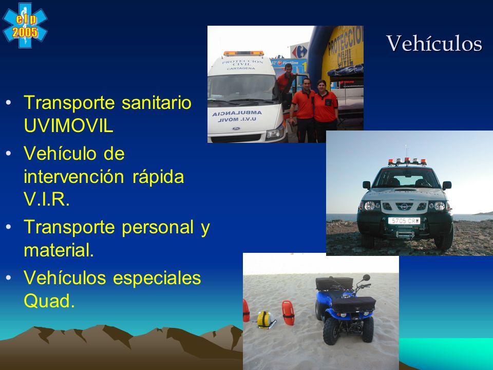 Vehículos Transporte sanitario UVIMOVIL