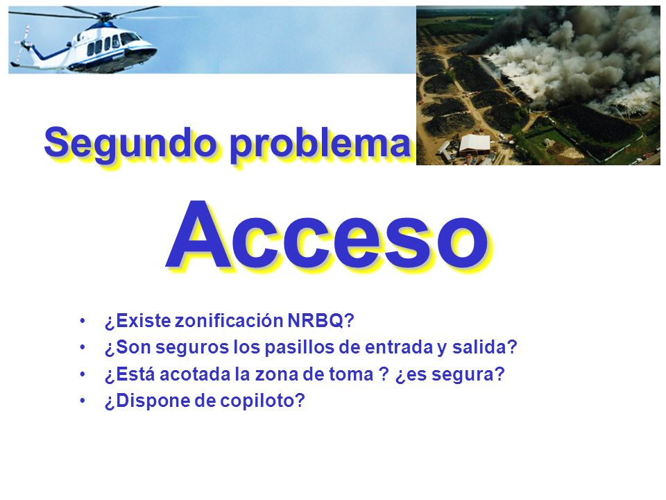 Segundo problema Acceso
