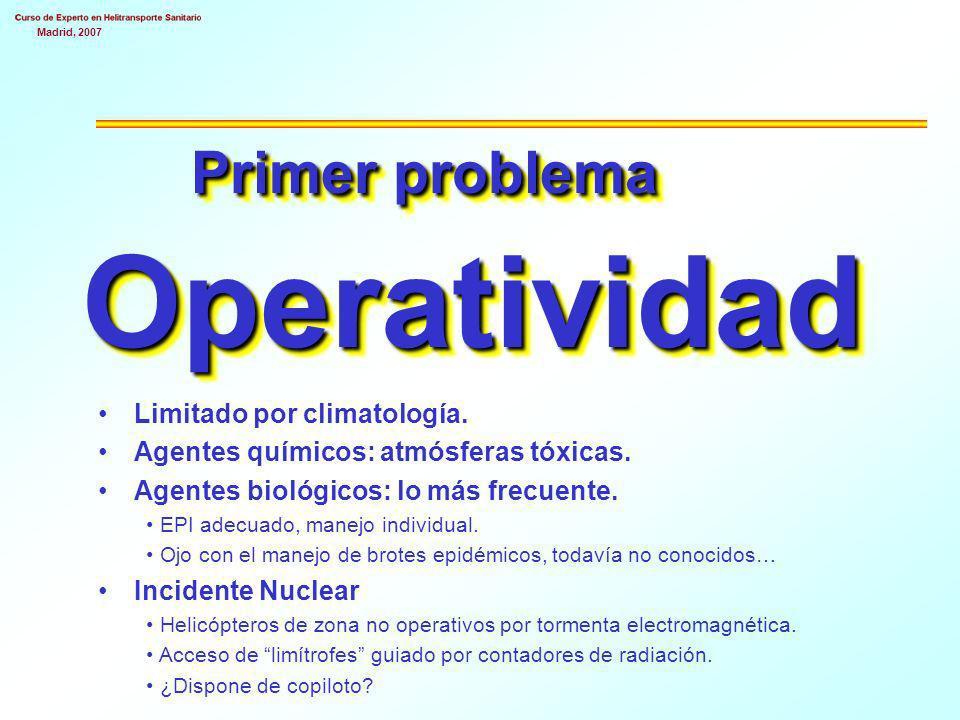 Primer problema Operatividad