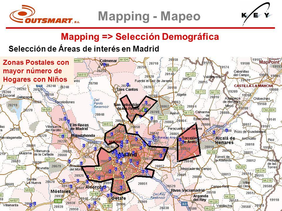 Mapping => Selección Demográfica