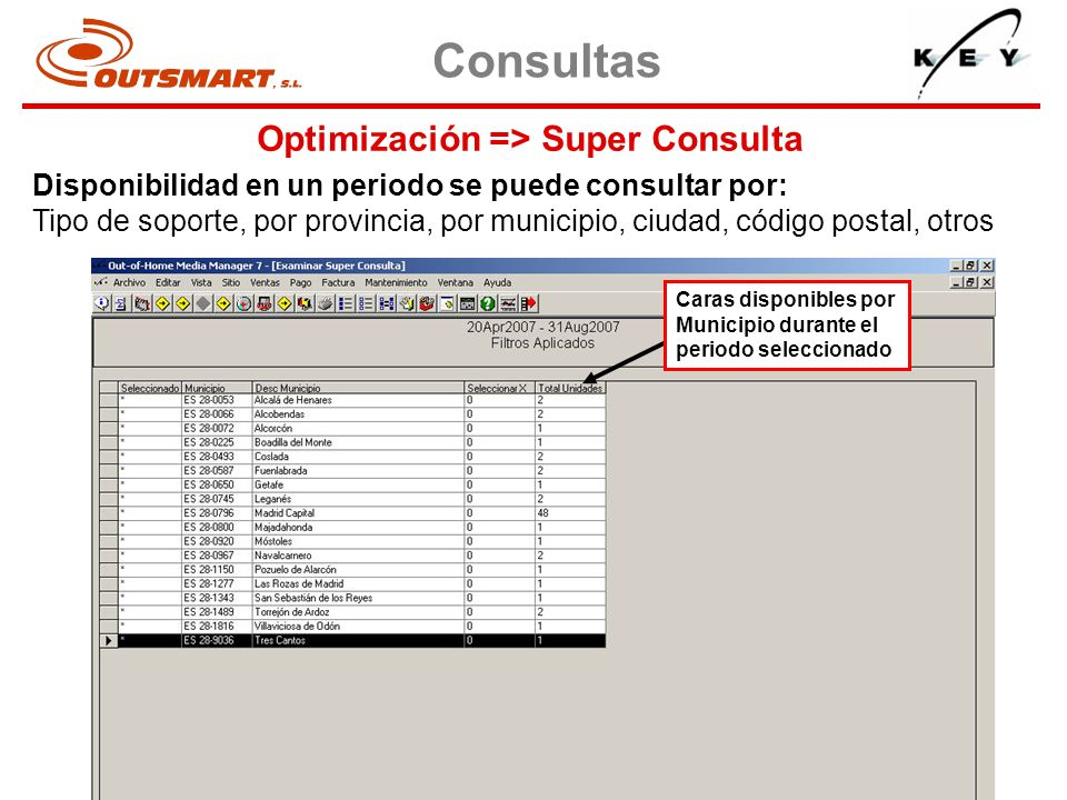 Optimización => Super Consulta