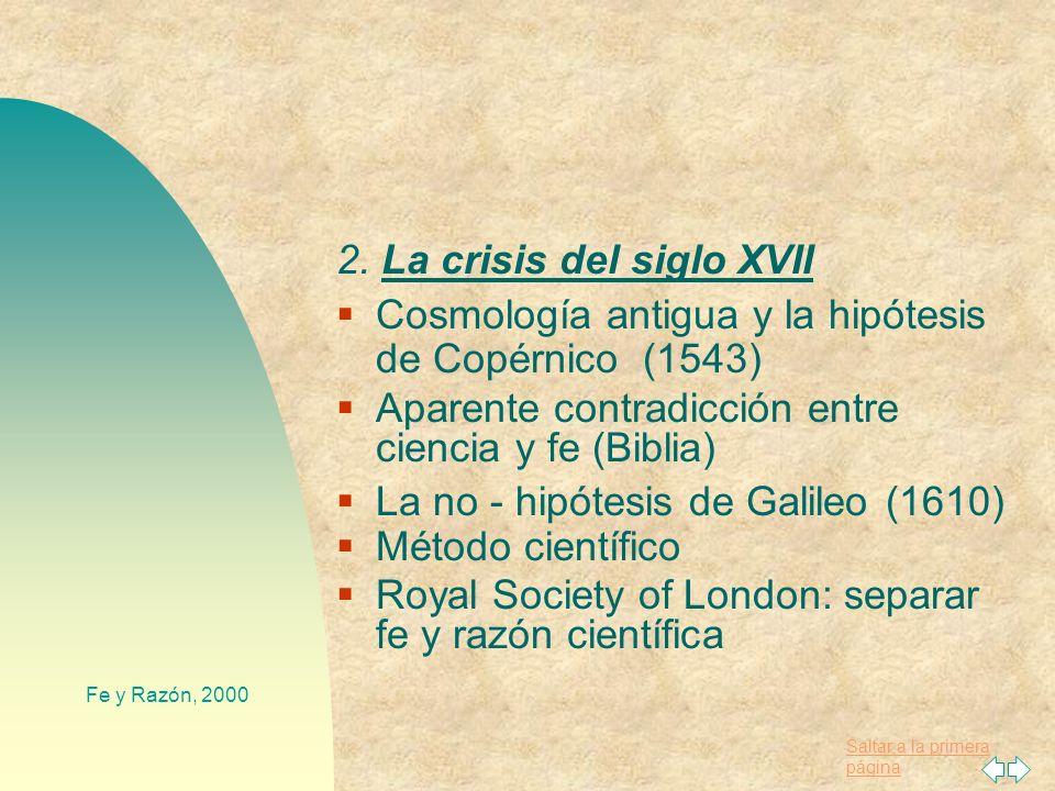2. La crisis del siglo XVII