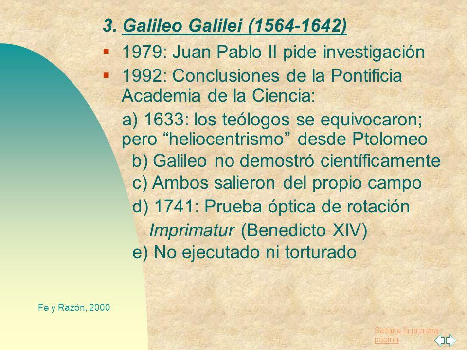 1979: Juan Pablo II pide investigación