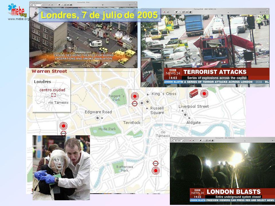 Londres, 7 de julio de 2005