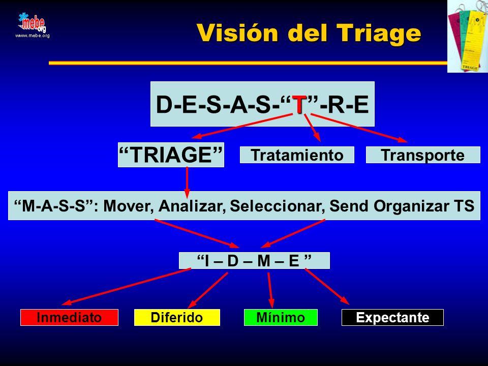 M-A-S-S : Mover, Analizar, Seleccionar, Send Organizar TS