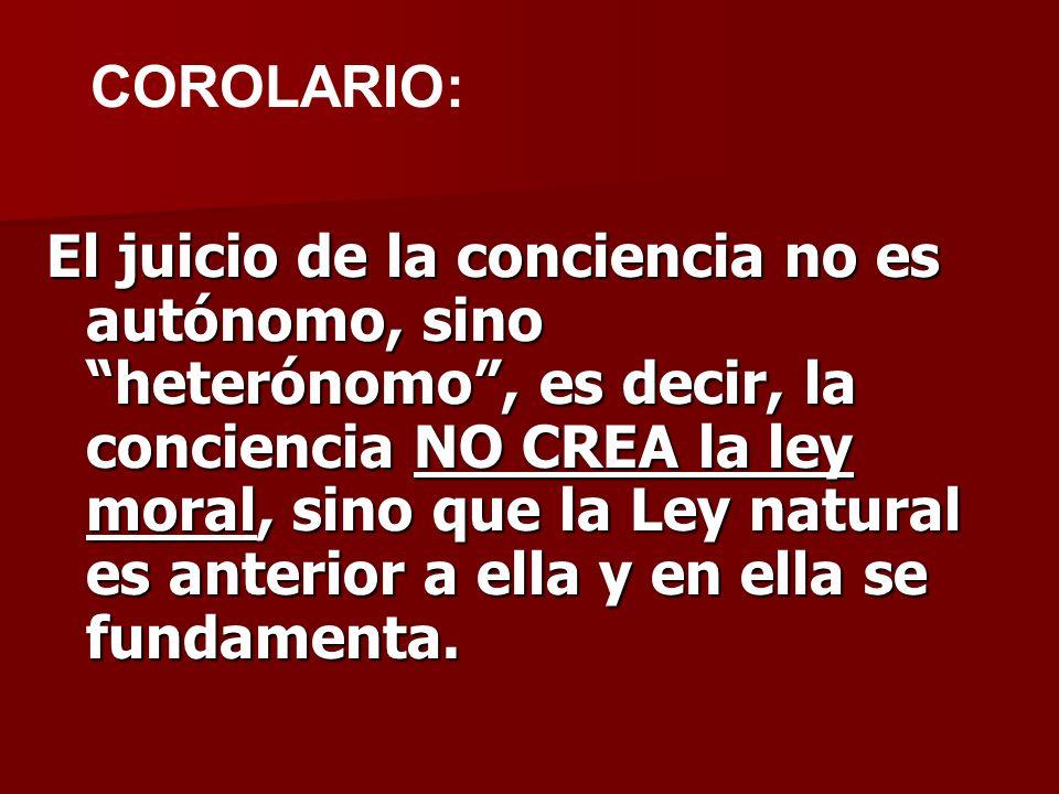 COROLARIO:
