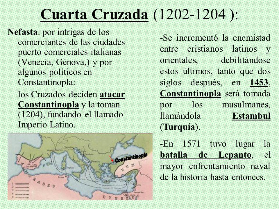Cuarta Cruzada (1202-1204 ):