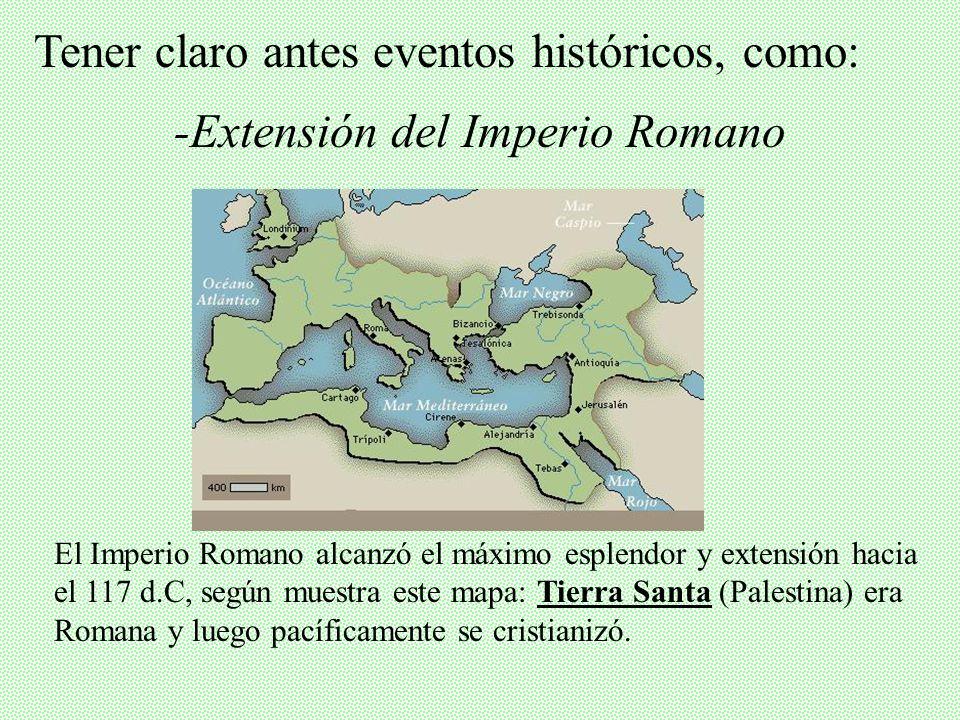 -Extensión del Imperio Romano