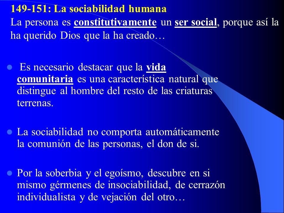 149-151: La sociabilidad humana