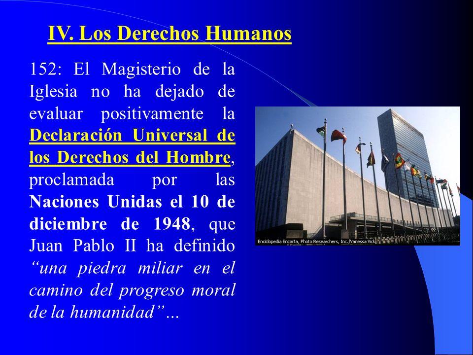 IV. Los Derechos Humanos