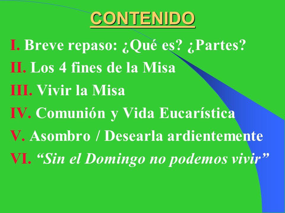 CONTENIDO I. Breve repaso: ¿Qué es ¿Partes