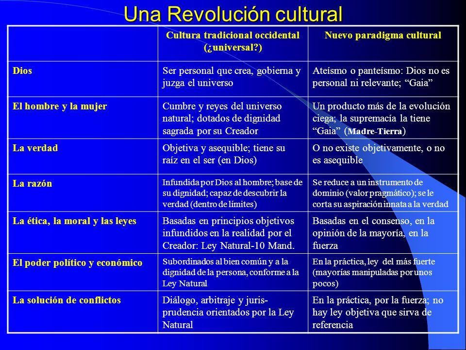 Una Revolución cultural