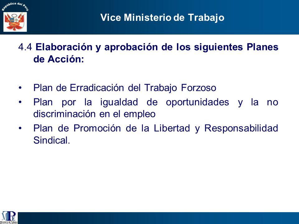 Vice Ministerio de Trabajo