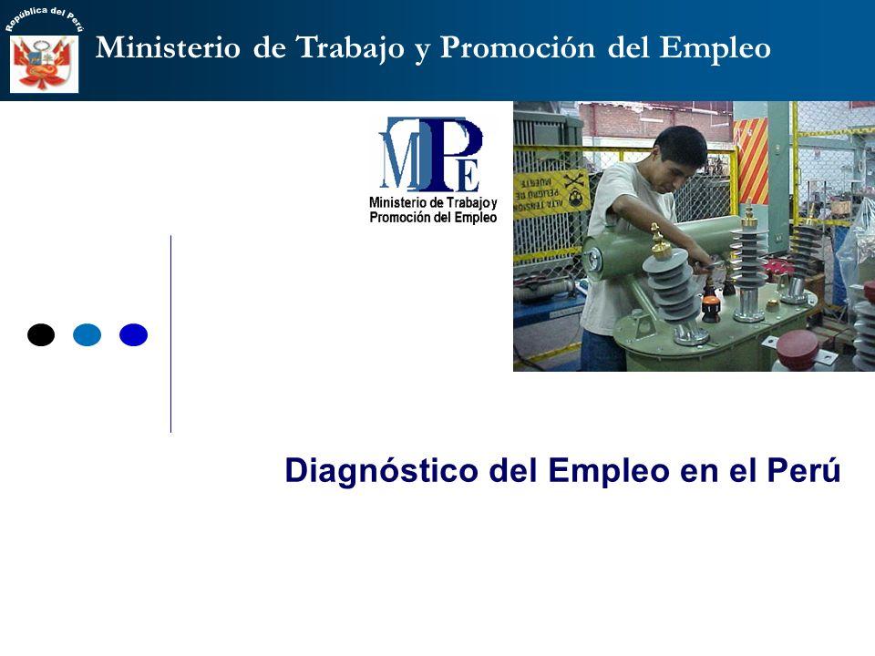 Diagnóstico del Empleo en el Perú
