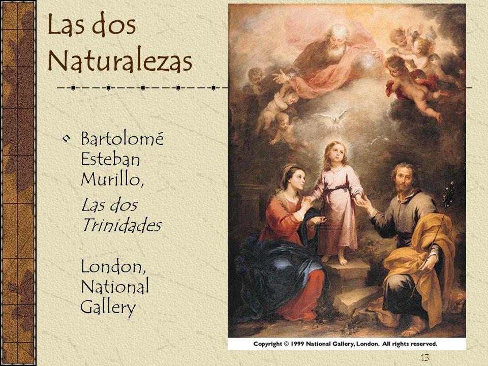 Las dos Naturalezas Bartolomé Esteban Murillo,