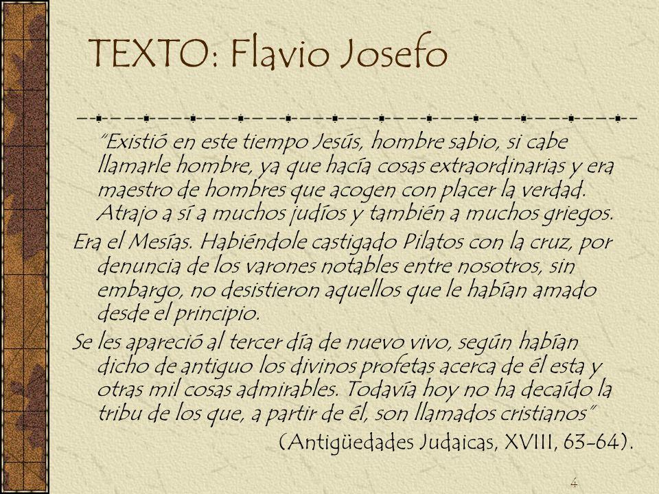 TEXTO: Flavio Josefo