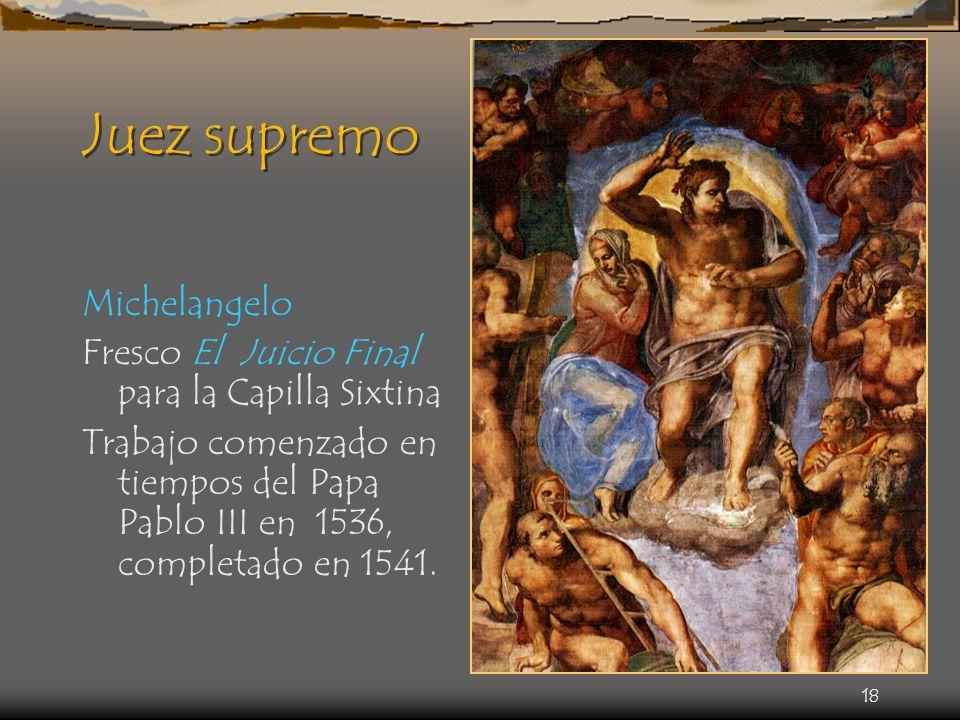 Juez supremo Michelangelo