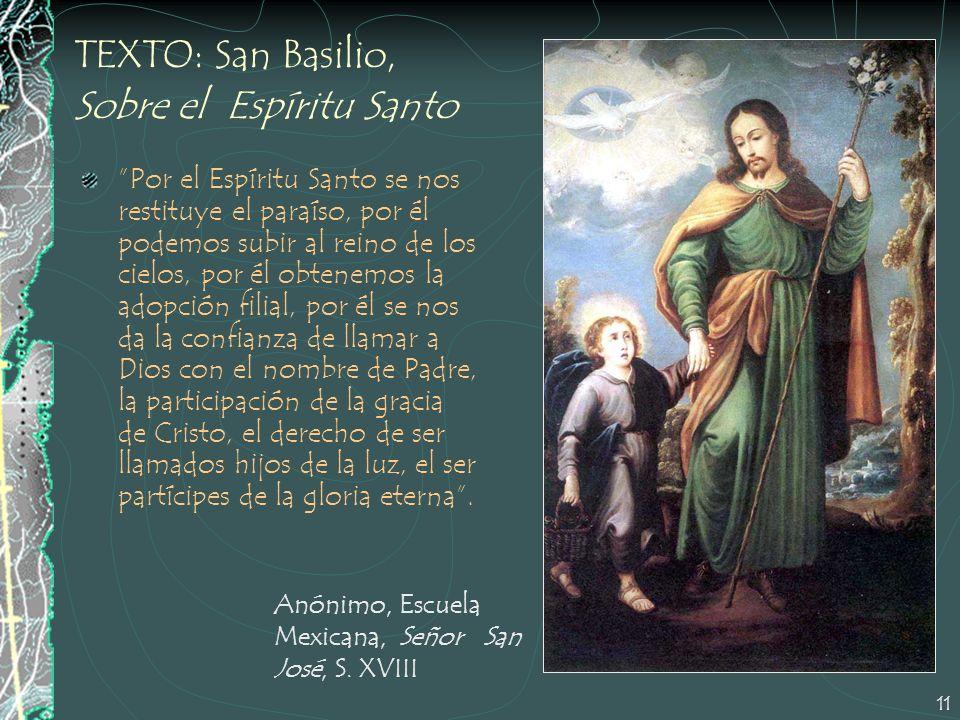 TEXTO: San Basilio, Sobre el Espíritu Santo