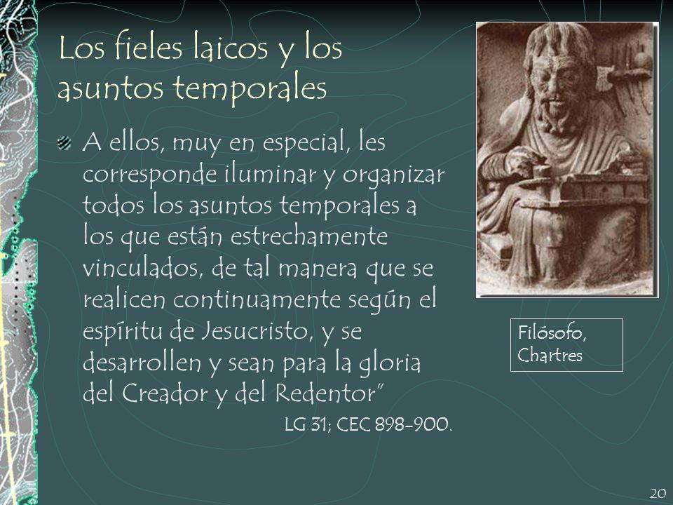 Los fieles laicos y los asuntos temporales