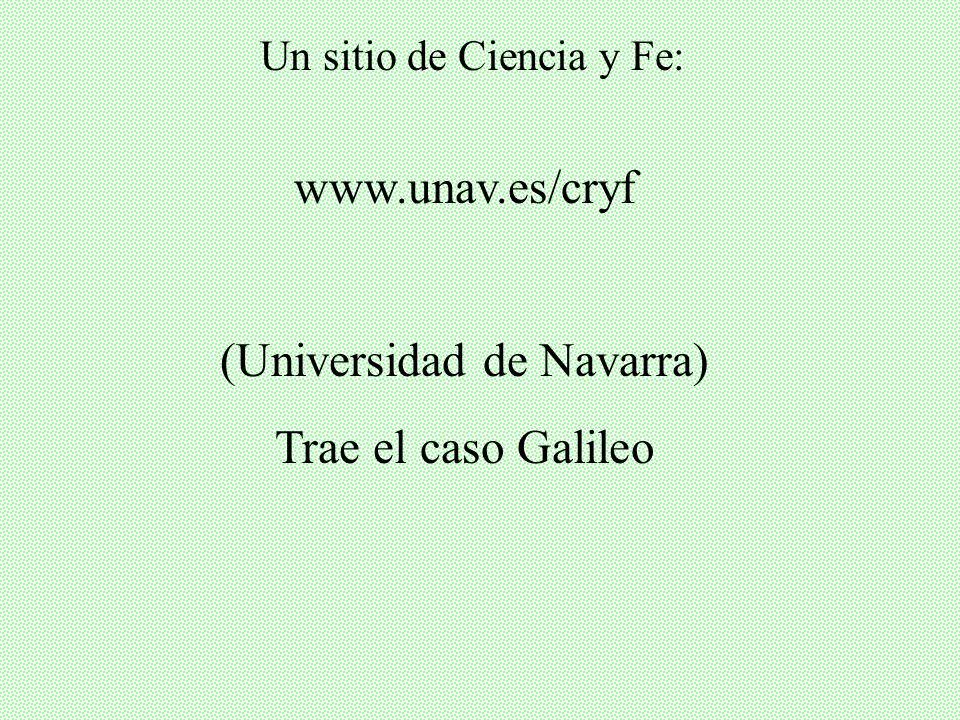 (Universidad de Navarra) Trae el caso Galileo