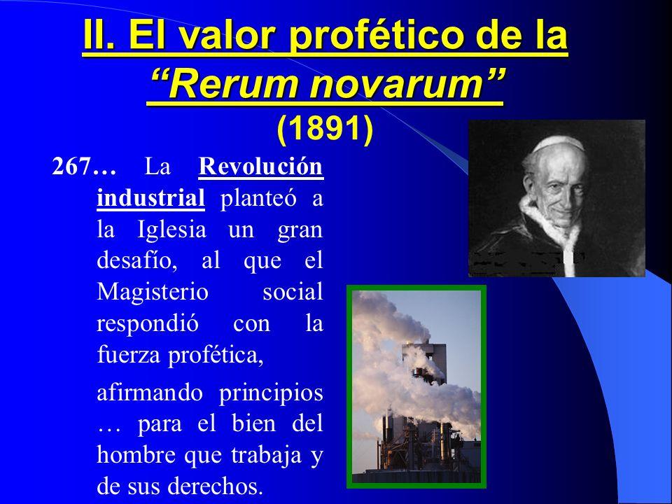 II. El valor profético de la Rerum novarum (1891)