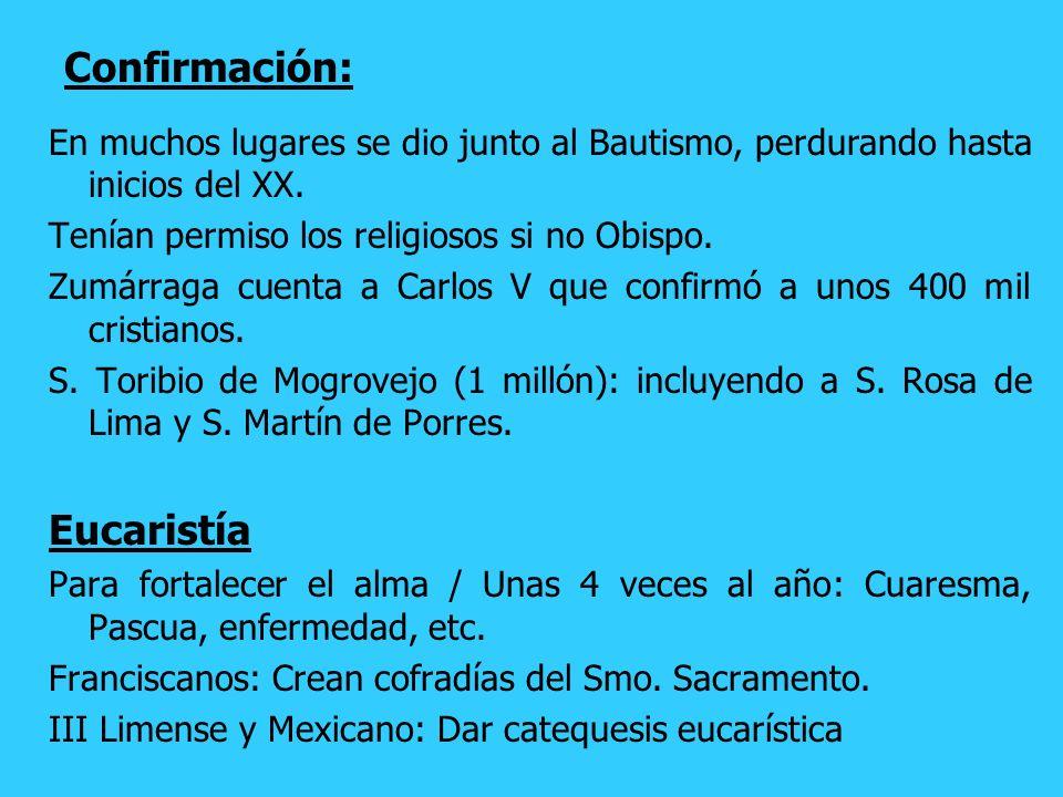 Confirmación: Eucaristía